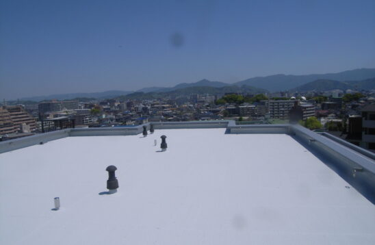 屋上防水保護塗装