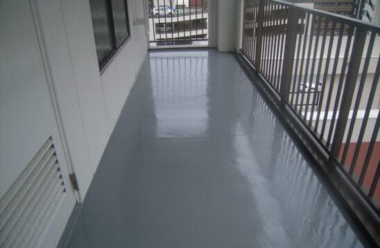 ビル屋上 通路防水